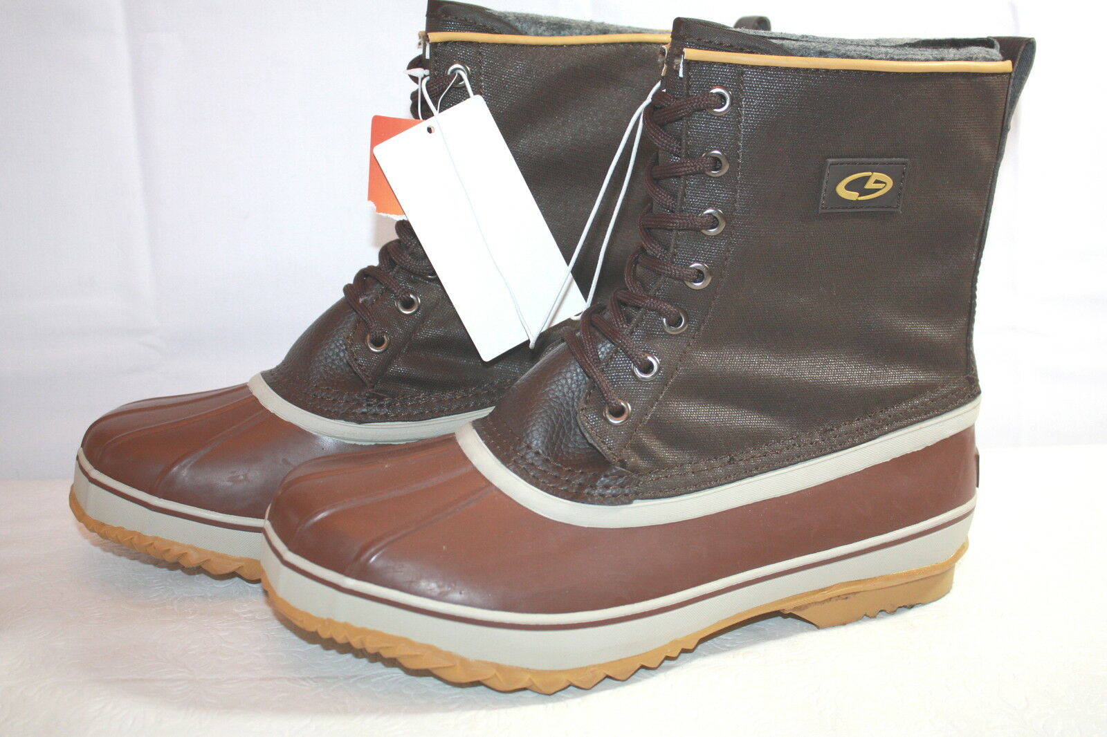 MENS DUCK WINTER WATERPROOF BOOTS  or CHAMPION available in 7 or  8  NEW  ss20 e3d3af