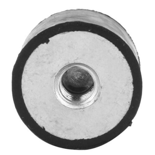 4pcs M6 Female Thread Rubber Anti Vibration Bobbin Isolator Damper Mount HOT
