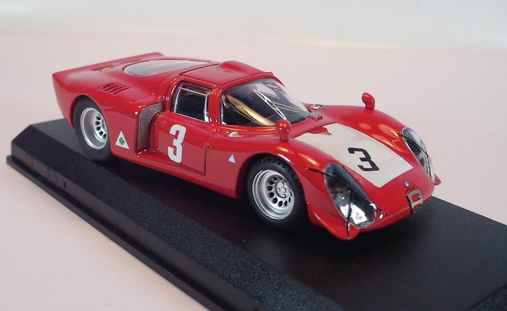 Model Best 1 43 9115 Alfa Romeo 33.2 Imola 1968 Vaccarella-Zeccoli 2 OVP  831  | Komfort