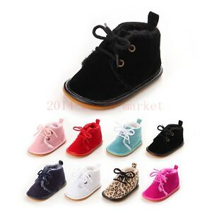 Infant-Toddler-Baby-Boy-Girl-Soft-Sole-Crib-Shoes-canvas-Sneaker-size-to-18m-QTO