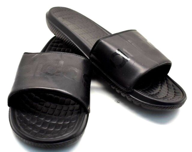 82a85a8f975af5 Men s adidas Voloomix B36048 Slide Sandals Size 13 Black for sale ...