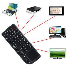 Tastiera Senza Fili USB Mouse 2.4G Touchpad del Mice Per Notebook PC Smart TV