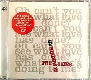 U2-DVD-Single-Window-In-The-Skies-Europe-M-M-Scelle-Sealed