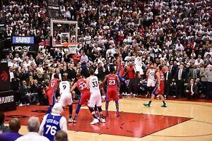 Kawhi-Leonard-Toronto-Raptors-Game-7-Buzzer-Beater-UNSIGNED-8X10-Photo-B