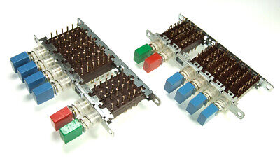 3 sections independent switches module ISOSTAT Electronic Components