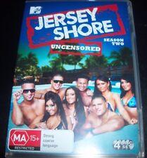 Jersey Shore Season Two Uncensored (Australia Region 4) DVD – Like New