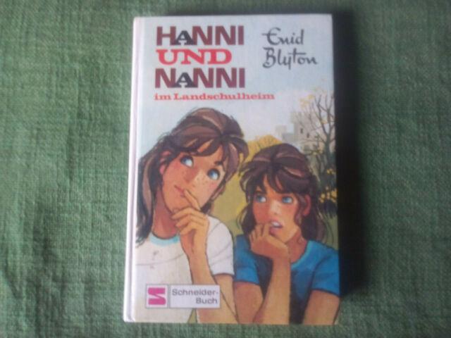 Enid Blyton - HANNI UND NANNI 15 - im Landschulheim - SCHNEIDER-BUCH