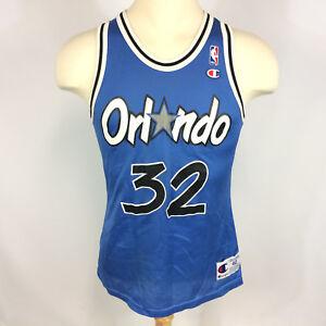 99b427962 Vintage 90s Orlando Magic Shaquille O neal NBA Champion Basketball ...