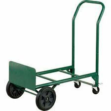 New Harper Trucks 2 In 1 Convertible Hand Truck And Dolly 400 Lb Capacity