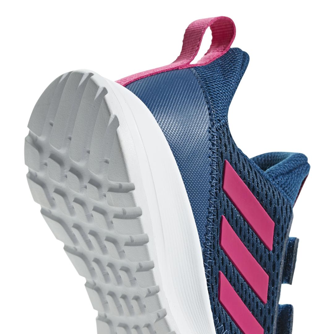 Adidas LK Sport 2 CF K  Girls Kids Junior Sport Trainers Shoes White Pink AQ4781