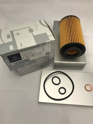 Mercedes-Benz OM651 Oil Filter /& Washer W204 C-Class W212 E-Class A6511800109