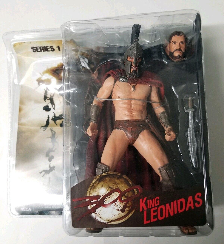 NECA - 300 Movie - serie 1 - King Leonidas Wirkung Figure 7  Reel Spielzeugs