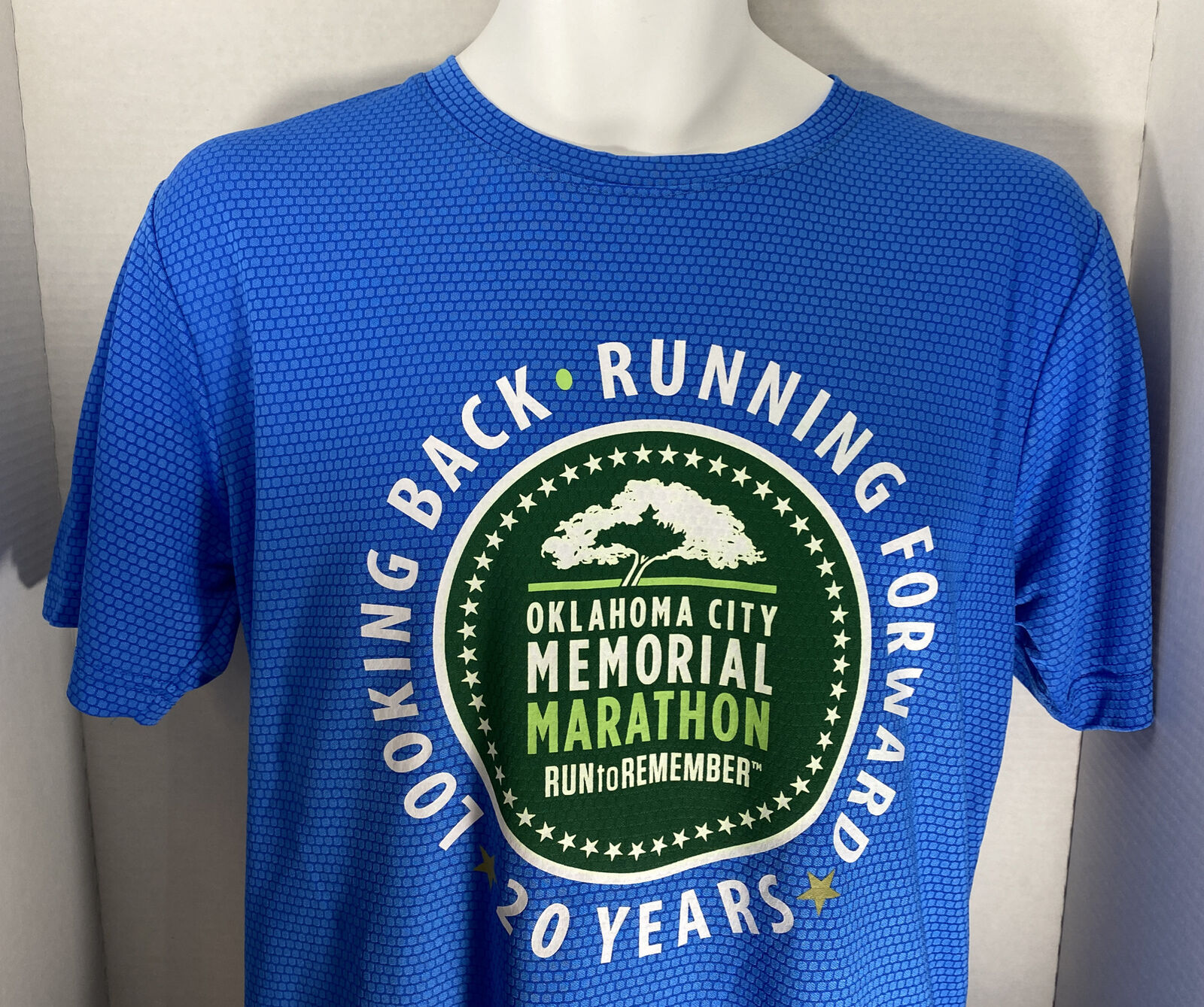 Oklahoma City Memorial Marathon Run to Remember 2020 Running Shirt VG Men's M