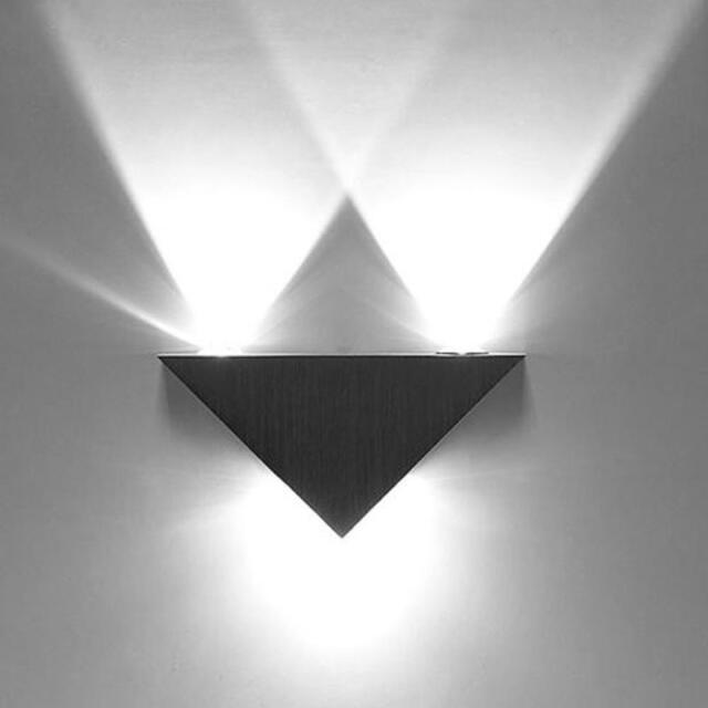 High Power 3W 3 LED Up Down Pathway Wall Lamp Spot Light Modern Sconce Lighting