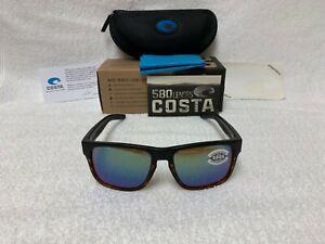 8d5f78426a NEW Costa Del Mar Spearo Polarized Sunglasses Tortoise Black   Green ...