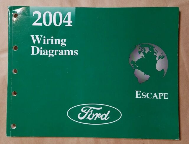 2004 Ford Escape Wiring Diagrams Electrical Shop Service
