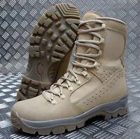 Genuine British Army Issue Meindl Desert Fox Assault / Patrol Combat Boots