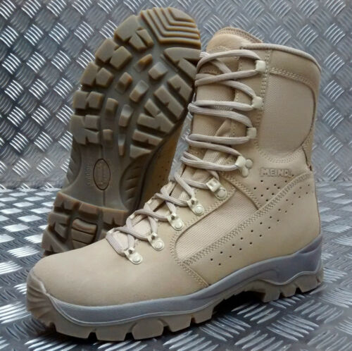 Genuine British Army Issue Meindl Desert Fox Assault / Patrol Combat Boots SEL