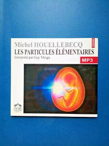 CD Livre Audio - Les Particules Élémentaires - Houellebecq - Livraphone - 2006