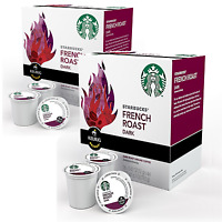 Starbucks French Roast Dark 32 Ct K-cup K Cup Keurig Pods