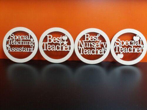 Mdf mejor maestra Posavasos también disponible mejor vivero Maestro y la enseñanza Trasero