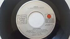"""CHAYANNE - Unica / Una Foto Para Dos 1986 LATIN POP ROCK Ariola Mexico 7"""""""