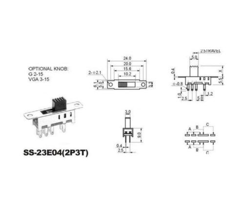 x2 8 Pin 3 Position Slide Switch On/Off 2P3T DP3T PCB Mount ...  Position Slide Switch Wiring Diagram on 6 prong toggle switch diagram, 3 position light switch diagram, 6 pin toggle switch diagram, throttle position sensor wiring diagram, 2 position selector switch diagram, 3 position wall switch, crankshaft position sensor wiring diagram, 3 position switch operation, 3 pole switch diagram, 2 pole switch diagram, 3 position toggle switch, 3-way toggle switch diagram, dpdt on-off-on switch diagram, 3 position switch parts, 3 position ignition switch diagram, light switch outlet diagram, ignition starter switch diagram, jeep cj headlight switch diagram, on off on toggle switch diagram,