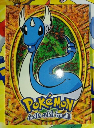 Neuf carte E11 TOPPS 148 Dragonair Draco Pokémon TV animation trading card box