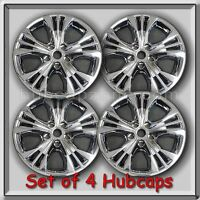 2016-2017 Chevrolet Chrome Wheel Skins, Hubcaps Chevy Impala 18 Wheel Covers (4