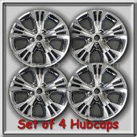 4 Chrome Wheel Skins, Hubcaps Chevy Impala 18 2014-2017 Chevrolet Wheel Covers