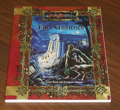 Ars Magica Sourcebook The Mysteries (atlas Games 2000) Come Nuovo Vedi Le Foto Sangue Nutriente E Regolazione Dello Spirito
