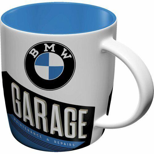 BMW original Tasse Kaffeetasse Mug Teetasse Haferl 8er 7er 6er 5er 3er V8 Garage