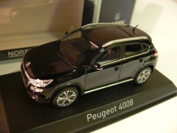 1 43 NOREV PEUGEOT 4008 2012 Noir