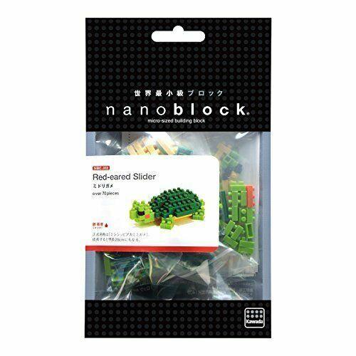 Budgerigar Green Opaline Nanoblock NBC 167