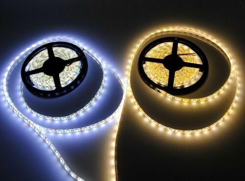 LED Stripe RGB Warmweiß Kaltweiß Band Streifen 5050 3528 300//600leds Lichtband