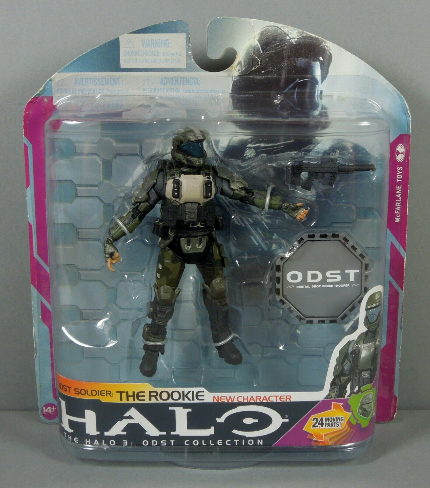 Halo 2009 Wave 3 - Series 6 ODST Soldier The Rookie   Mcfarlane Toys   Microsoft
