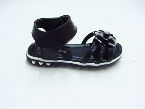 Toddler Rhinestone Flower Summer Sandals Sz 7,8,10 BUY 1 GET 1 flipflop FREE