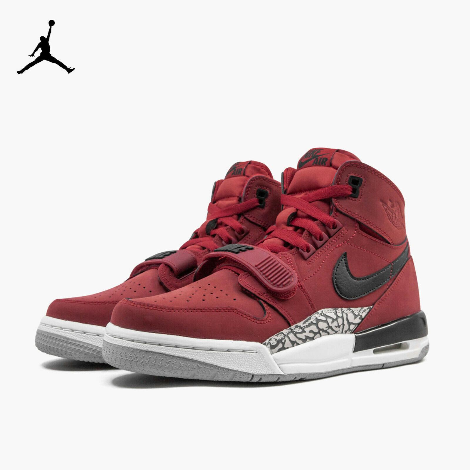 Nike Air Jordan Legacy 312 GS Boys Shoes At4040-601 Varsity Red/black Size 7y