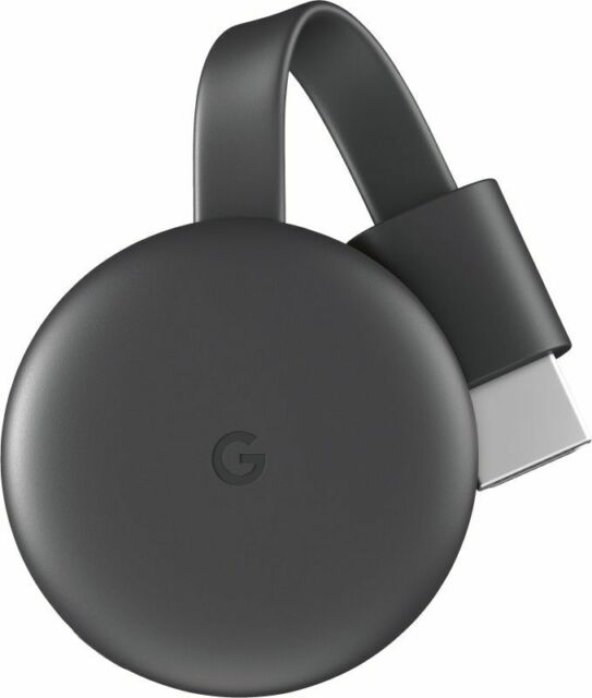 Google Chromecast - 3rd Generation Charcoal