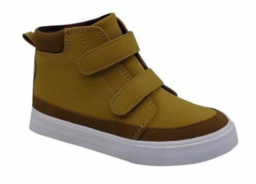 NEW Toddler Boys Wheat//Matt Casual Sneakers Shoes Tan Various Sizes