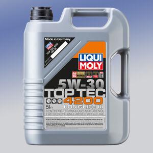 Liqui Moly Top Tec 4200 5W-30 1 x 5 Liter Motor-Öl