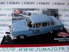 voiture 1/43 IXO altaya Rallye Monte Carlo : Mercedes 220 SE 1960 Schock