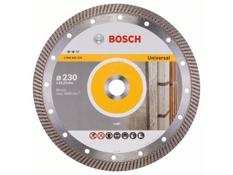 Bosch Diamanttrennscheibe Expert for Universal Turbo