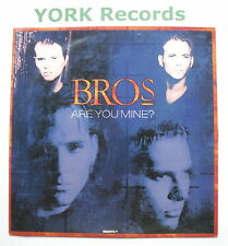 "BROS - Are You Mine - Excellent Condition 7"" Single Columbia 656970 7"