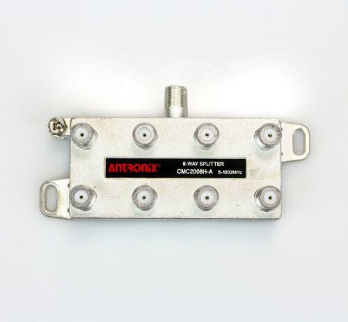 Antronix Cable TV CATV Coax Splitters 2//4//8-Way HD Digital MOCA 1//2//3//4//5pc NEW