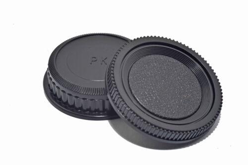 Pentax K conjunto de tapa trasera del cuerpo de cámara Tapa trasera de objetivo