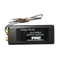 Sni-35 PAC SNI35 Adjustable Line out Output Converter Speaker Wire to RCA Audio