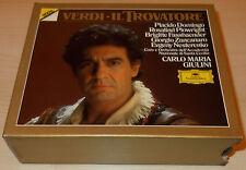 VERDI-MACBETH-2xCD 1988-GIULINI-PLACIDO DOMINGO/FASSBAENDER-WG FULL SILVER RINGS