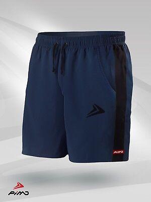 2019 Mode Pimd Prime Gym Shorts Muscle Fitness Jersey Training Running Navy Blue/ Black Durchblutung Aktivieren Und Sehnen Und Knochen StäRken