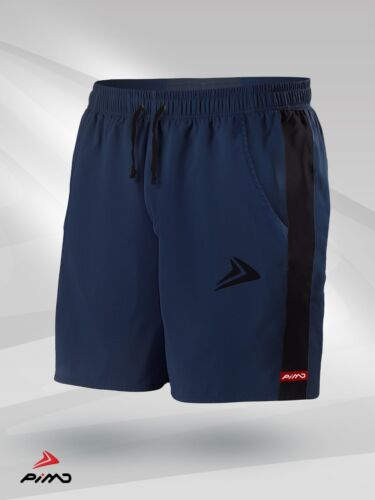 PIMD Prime Gym Shorts Muscle Fitness Jersey Training Running Navy Blue// Black